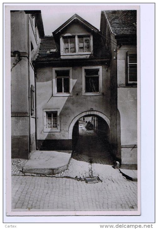 8415  Cpa   BLIESKASTEL  ; Torbogen Am Schlossberg 1960  ,  Carte Photo !! - Saarpfalz-Kreis