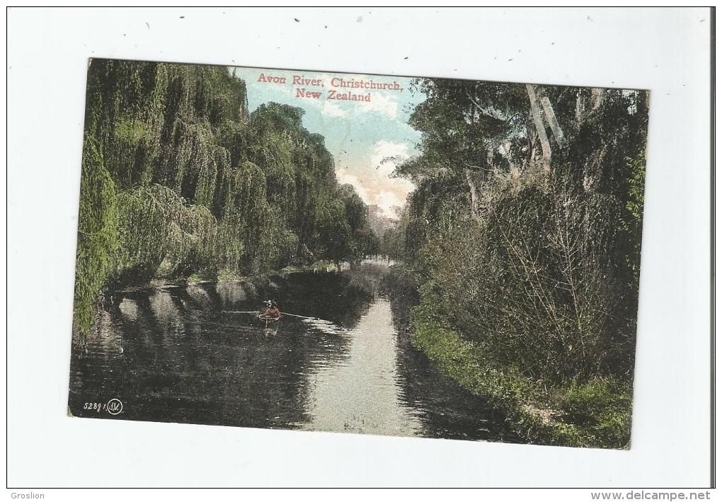 AVON RIVER CHRISTCHURCH NEW ZEALAND 52891     1908 - Nouvelle-Zélande