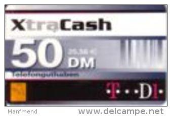 Germany - DM 50 Prepaidcard - D1 - Victorvox - XtraCash  -due Date 31.12.2001- X 13.07a - Deutschland