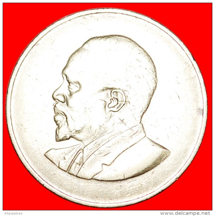 ★WITHOUT LEGEND: KENYA ★ 10 CENTS 1966! LOW START★NO RESERVE! Mzee Jomo Kenyatta (1964-1978) - Kenya