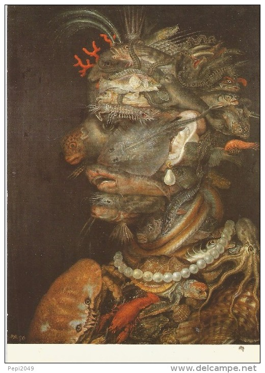 Z844 - POSTAL -  GIUISEPPE ARCIMBOLDO - WASSER 1566 - DAS KUNST HITORISCHE MUSEUM WIEN - Postales