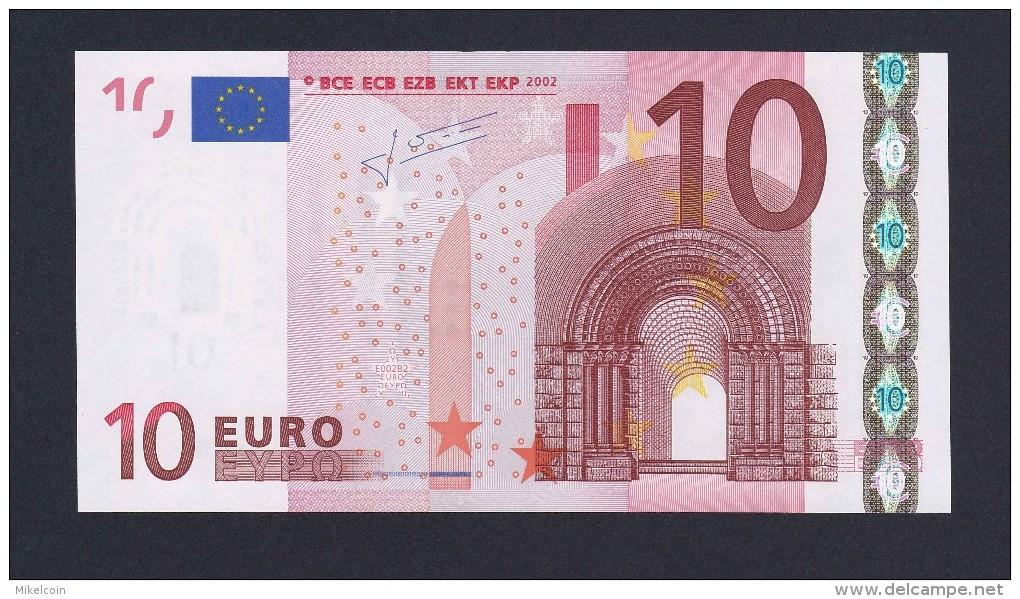 (BE022)  - 10 € - GERMANY X - JC TRICHET - SC/UNC  (E002B2) - 10 Euro