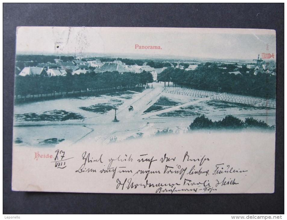 AK HEIDE Ca.1900 /// D*18992 - Heide