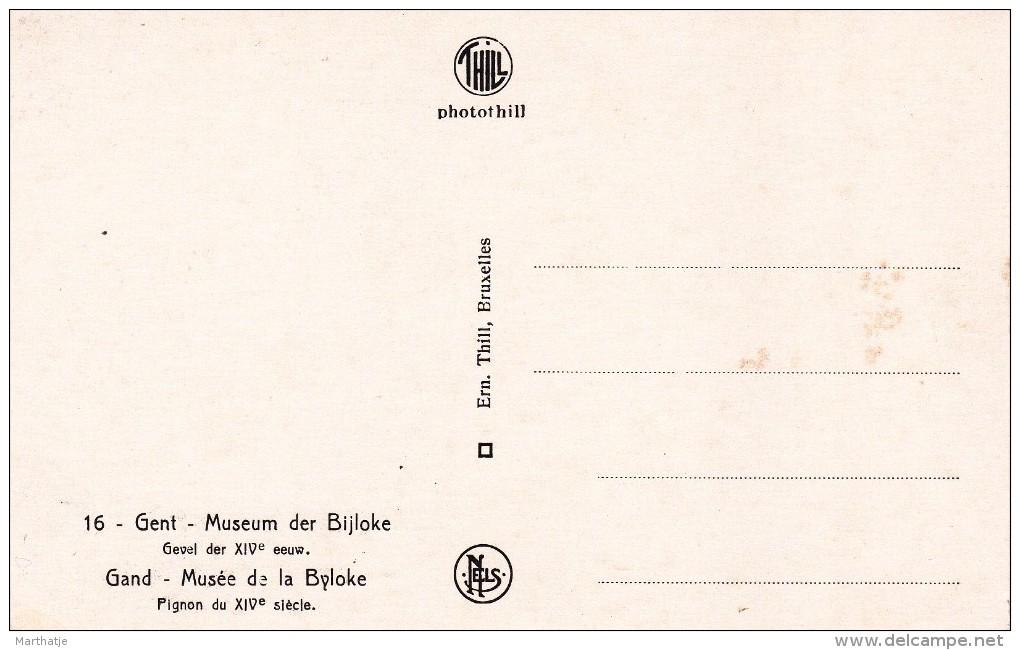 16 - Gent - Museum Der Bijloke - Gevel Der XIVe Eeuw - Gand - Musée De La Byloke - Pignon Du XIVe Siècle - Gent