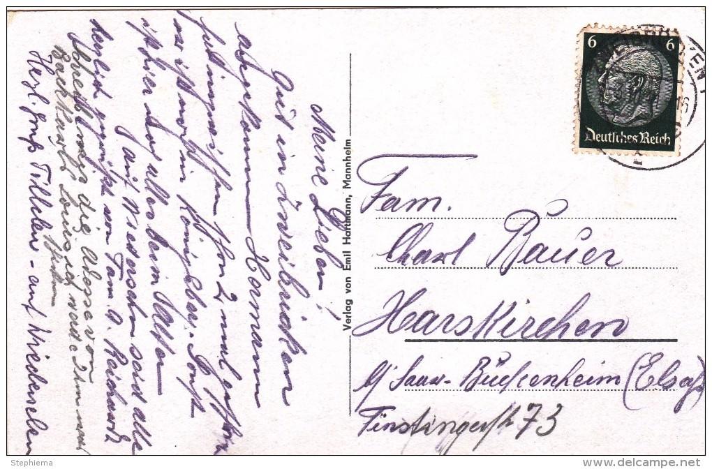 Carte Postale, Horst Wessel Platz, Restauration Zur Herzogsbrüde, Zweibrücken - Zweibruecken