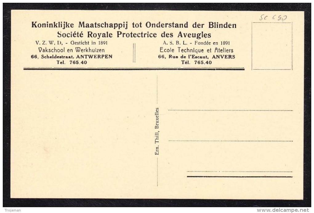 "EXTRA8-67 BELGIUM POST CARD ""PROTECTRICE DES AVEUGLES"" - Europe"