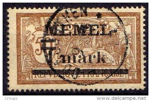 Memel 1920 Mi 26 X, Gestempelt [010216XIV] - Memelgebiet