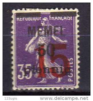 Memel (Klaipeda) 1920 Mi Mi 48 * [010216XIV] - Memelgebiet
