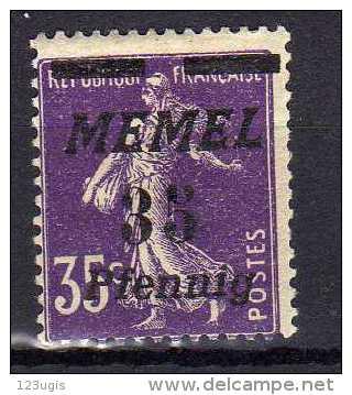 Memel (Klaipeda) 1922 Mi 84 * [010216XIV] - Memelgebiet
