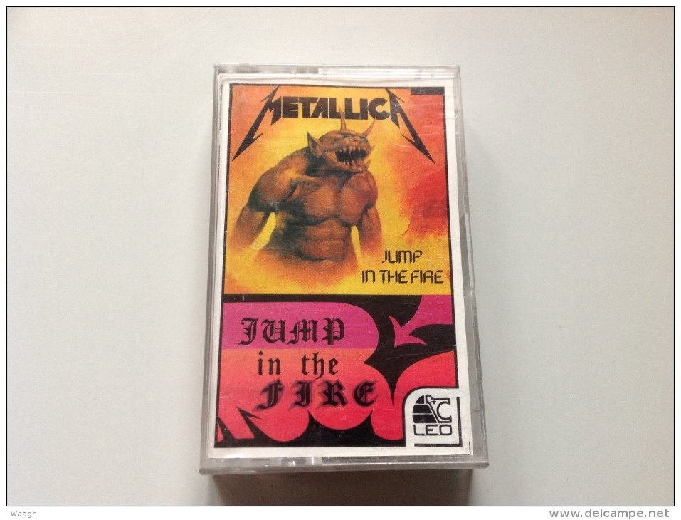 METALLICA Jump In The Fire / Creeping Death TAPE POLAND - Audiokassetten