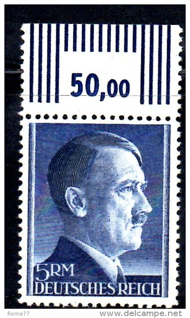 TERZO REICH 1941 , Hitler Alti Valori Unificato N. 726  ***  MNH Dent 12 1/2 - Germania