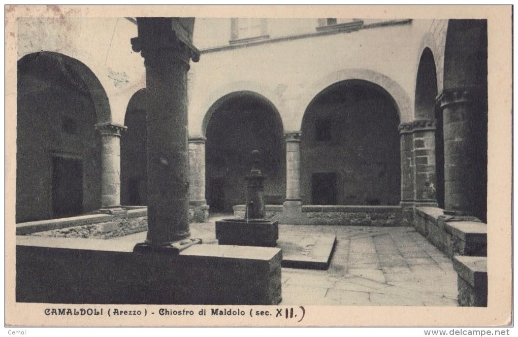 CPA - CAMALDOLI (Arezzo) - Chiostro Di Maldolo - 1935 - Arezzo