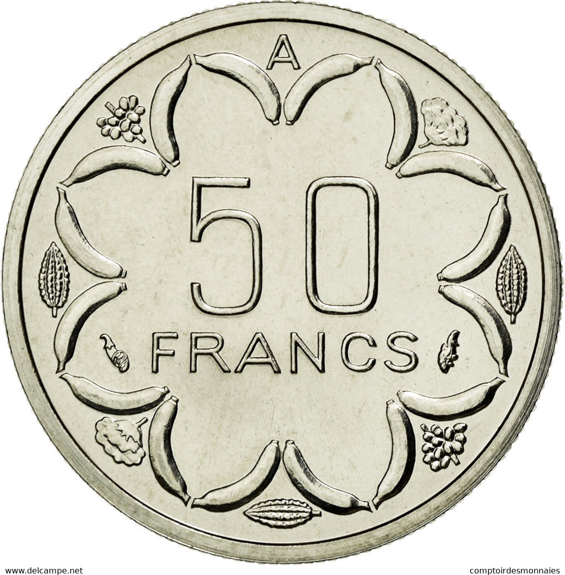 Monnaie, West African States, Franc, 1976, FDC, Steel, KM:8 - Tchad