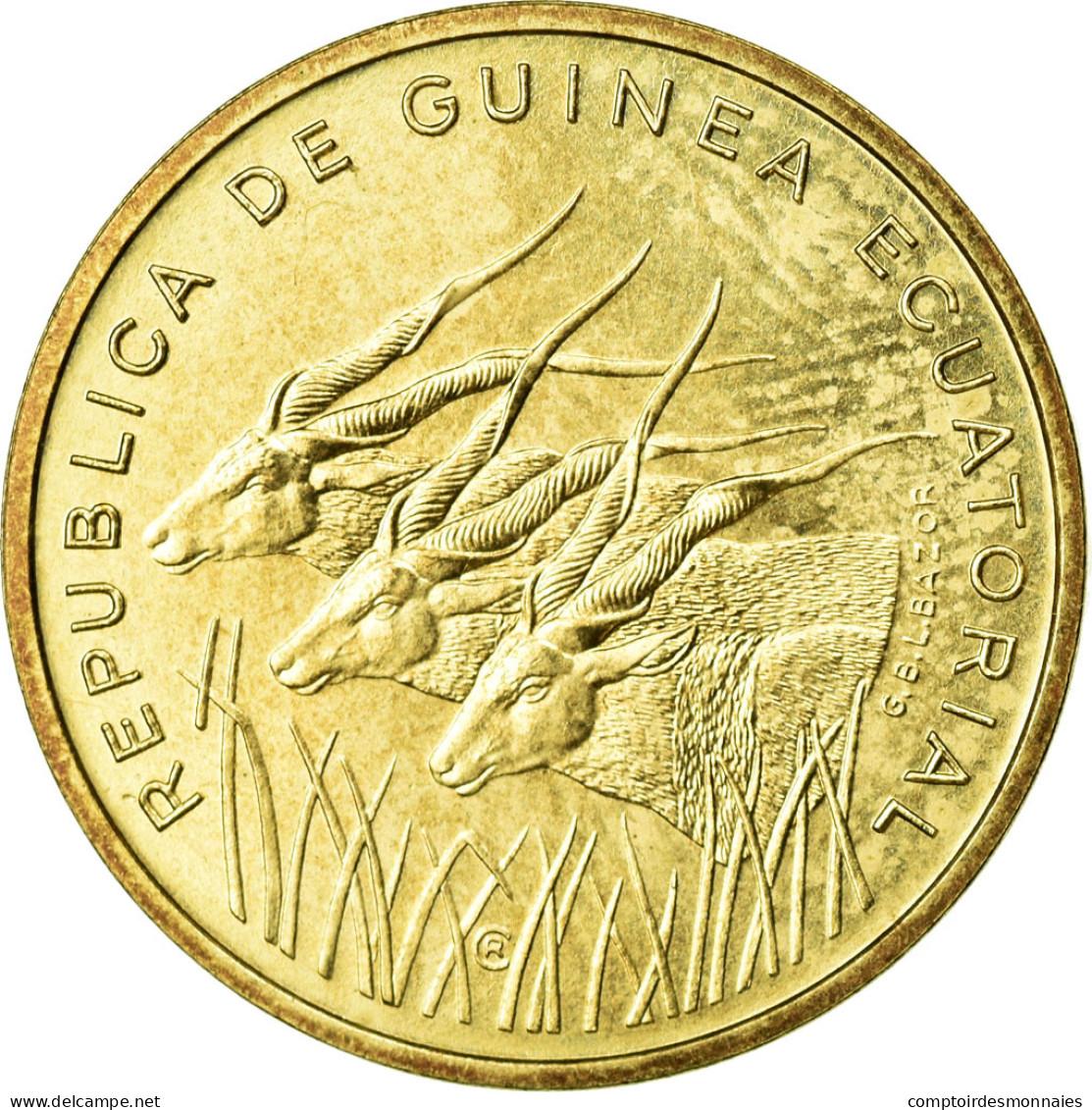 Monnaie, Equatorial Guinea, 5 Francos, 1985, FDC, Aluminum-Bronze, KM:E28 - Guinée Equatoriale
