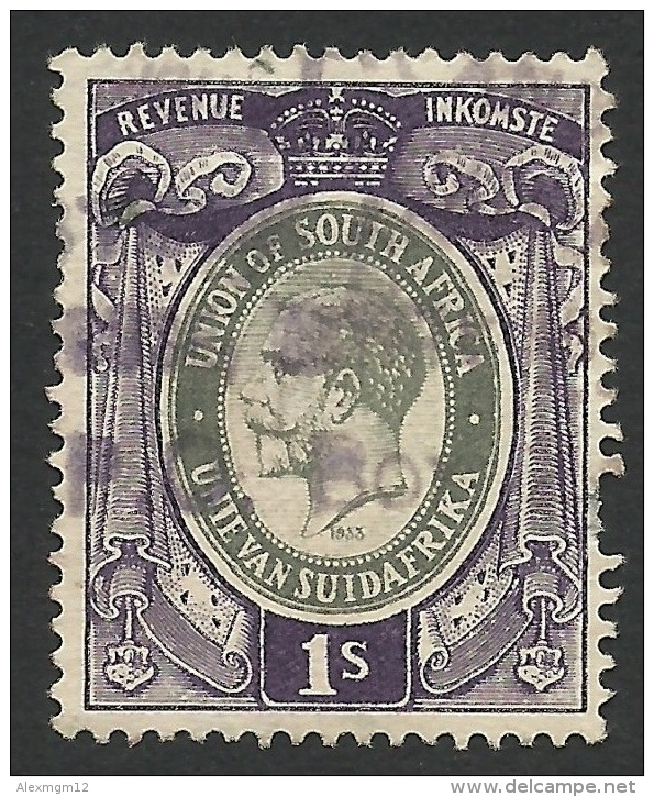 South Africa, Revenue 1 S. 1933, Used. - South Africa (...-1961)