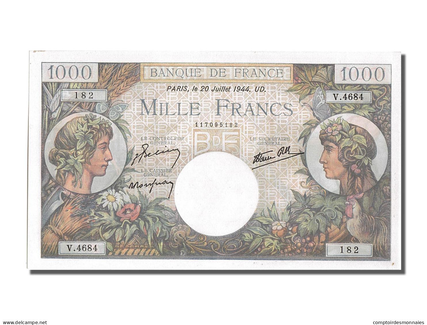 1000 Francs Type Commerce Et Industrie - 1 000 F 1940-1944 ''Commerce Et Industrie''