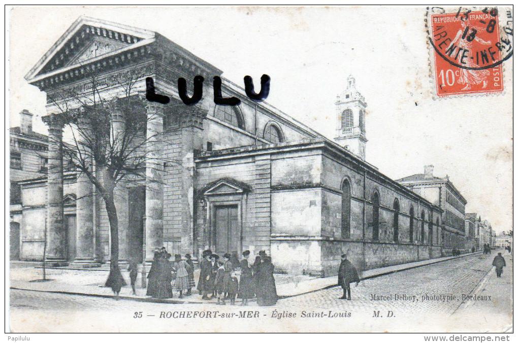DEPT 17 : Rochefort : église Saint Louis - Rochefort