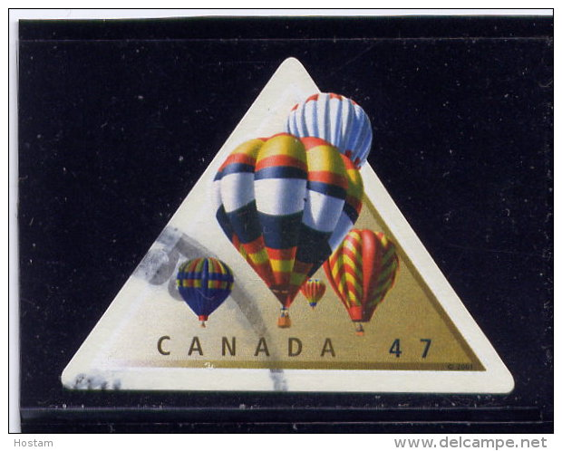 CANADA, 2001,USED,  #1921d , HOT AIR BALLOONS   USED - Carnets