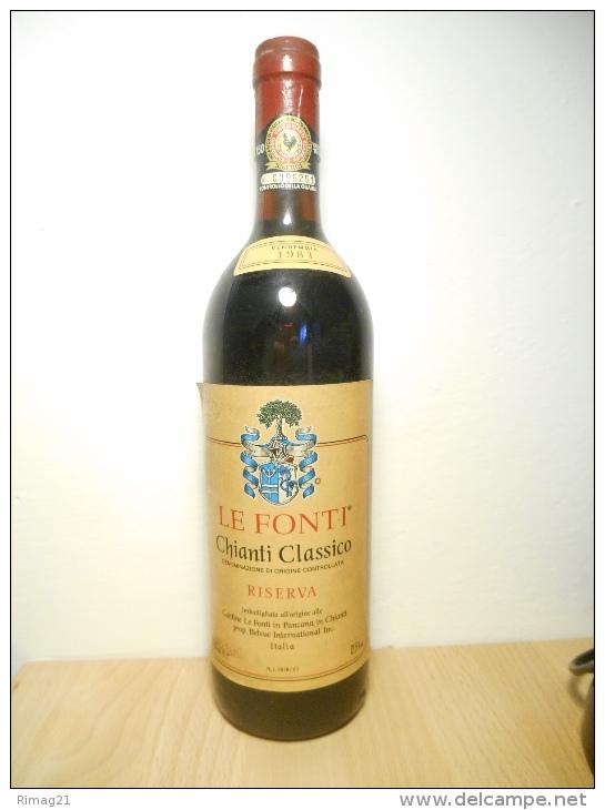 Chianti Classico Le Fonti 1981 - Vin
