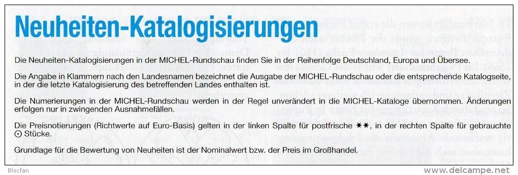 MICHEL Briefmarken Rundschau 1/2016 Neu 6€ New Stamps Of The World Catalogue/ Magacine Of Germany ISBN 978-3-95402-600-5 - Deutsch
