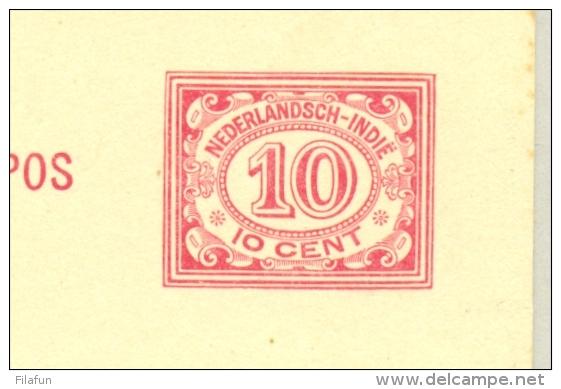 Nederlands Indië - 1932 - Luchtpostreklame Op 10 Cent Cijfer, G53c - Indes Néerlandaises