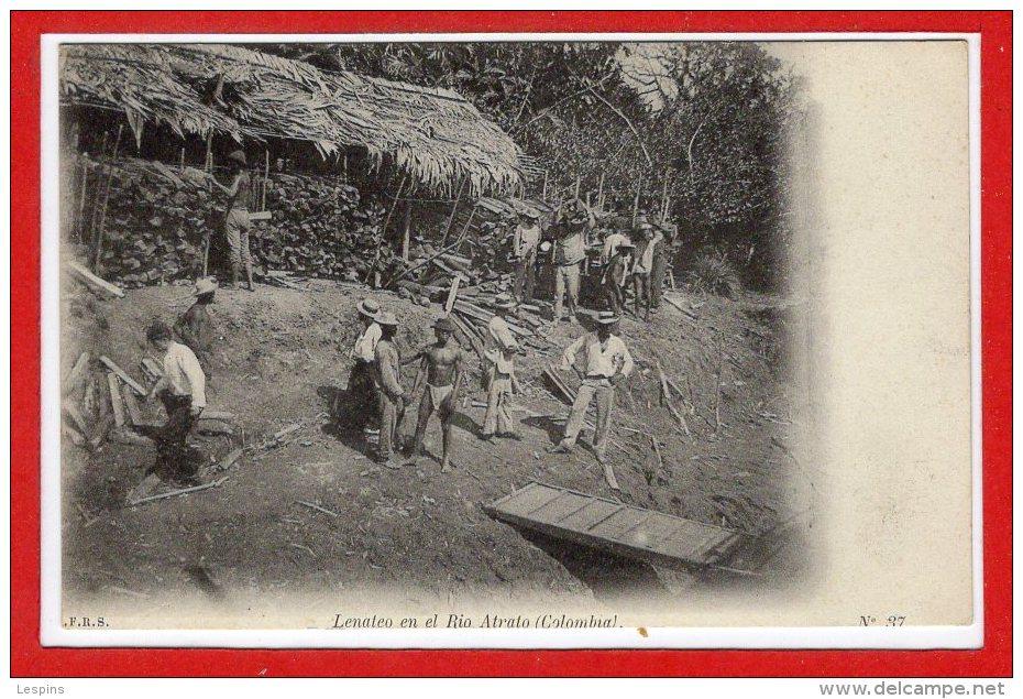 Amérique - COLOMBIE -- Lenateo En El Rio Atrato - Colombie
