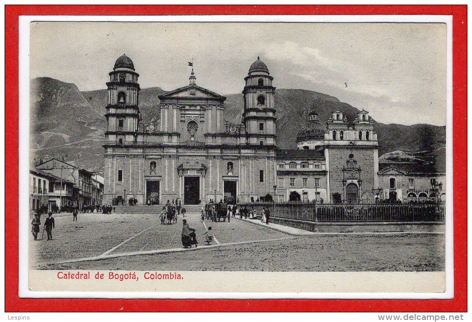 AMERIQUE - COLOMBIE --  Bogota  Catedral - Colombie