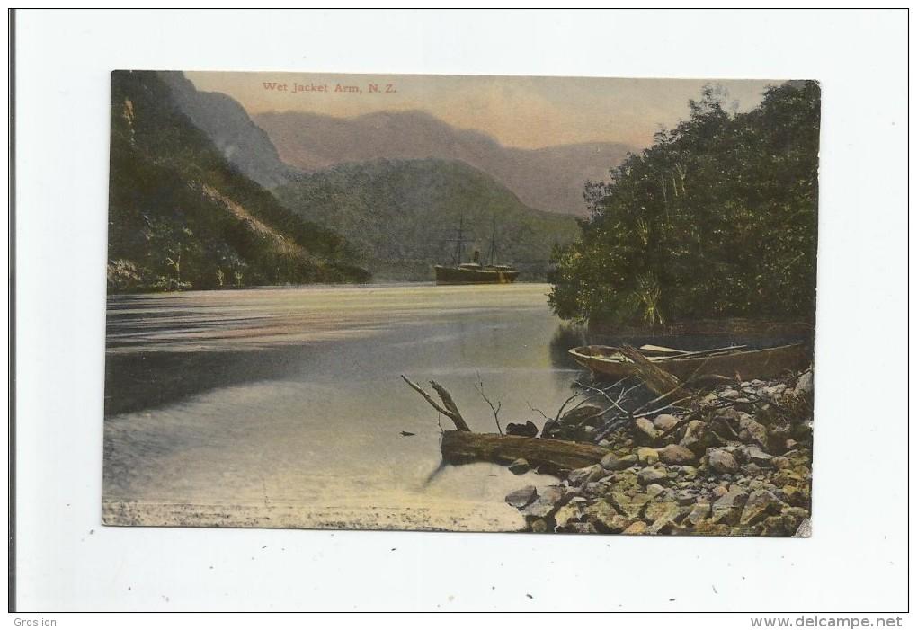 NEW ZEALAND 1047 WET ARM 1909 - Nouvelle-Zélande
