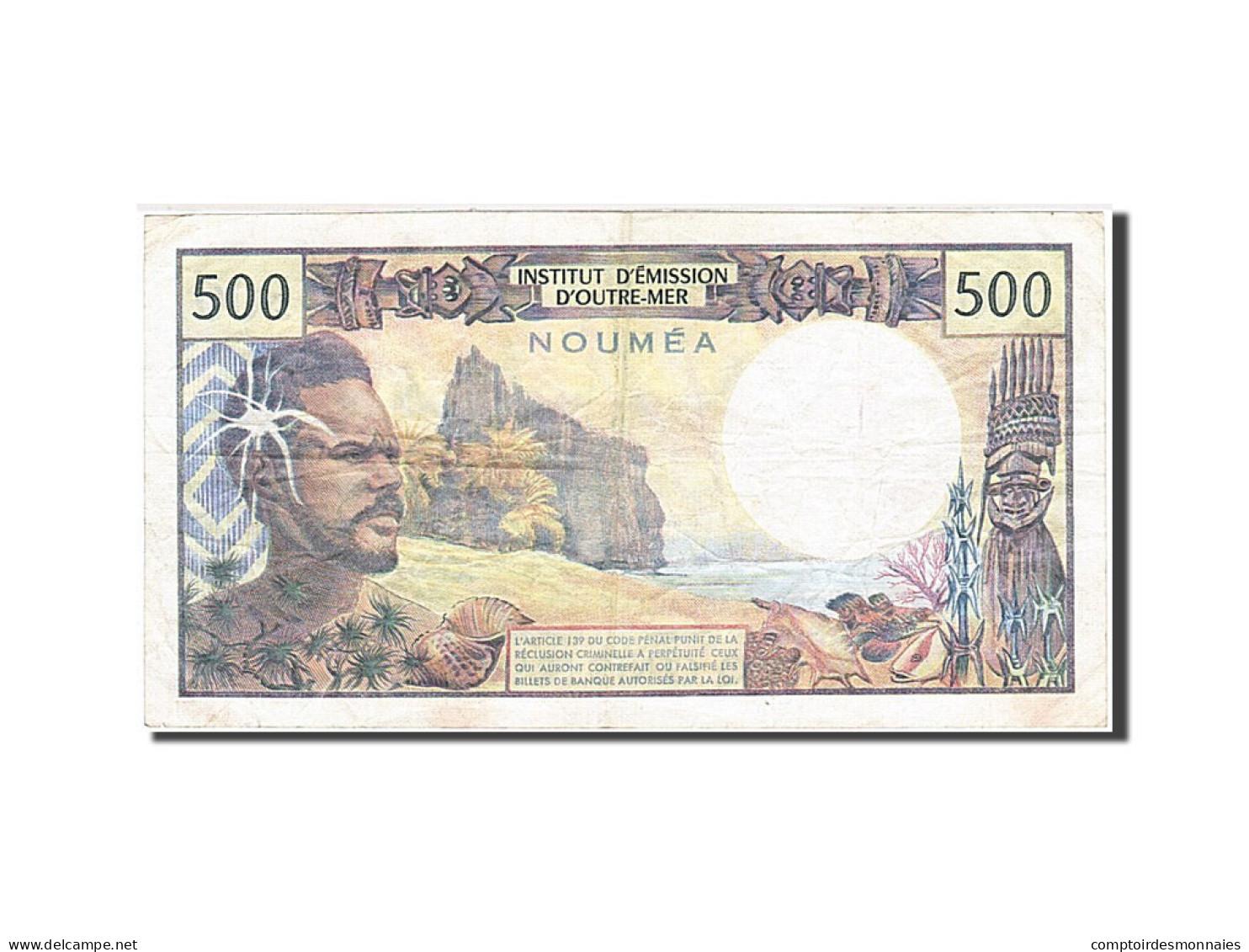 Nouvelle-Calédonie, 500 Francs, 1969, Undated (1969-1992), KM:60d, TTB - Nouméa (New Caledonia 1873-1985)