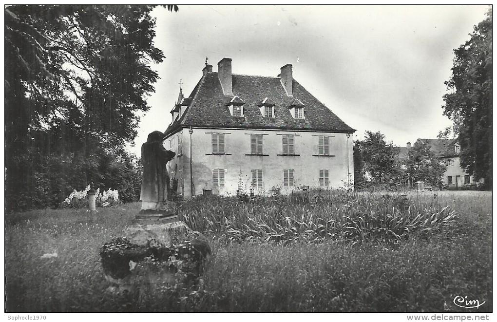 BOURGOGNE - 21 - COTE D'OR -  SAINT SEINE EN BACHE - CPSM PF NB - Château - France