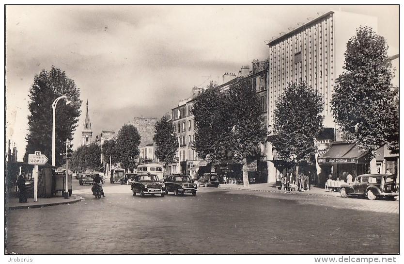 """FRANCE - Aubervilliers-Pantin 1960's - Le Carrefour Des 4 Chemins - Le Cinema """"Le Carrefour"""" - Aubervilliers"""