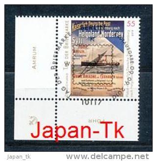 GERMANY Mi.Nr. 2819 Tag Der Briefmarke- ESST Berlin - Eckrand Unten Links - Used - Gebraucht