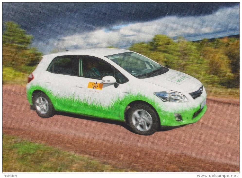 Aland Postcard 2013 Europa - Postal Vehicles - Car - Aland