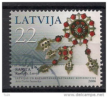 Lettland  (2006)  Mi.Nr.  672  Gest. / Used  (ek157) - Lettland