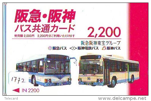 Télécarte Japon * BUS * Japan Phonecard * Auto * Car (1772) Voitures * Telefonkarte * - Cars