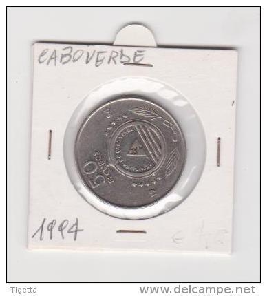 CAPO VERDE   50 ESCUDOS  ANNO 1994 - Cap Vert