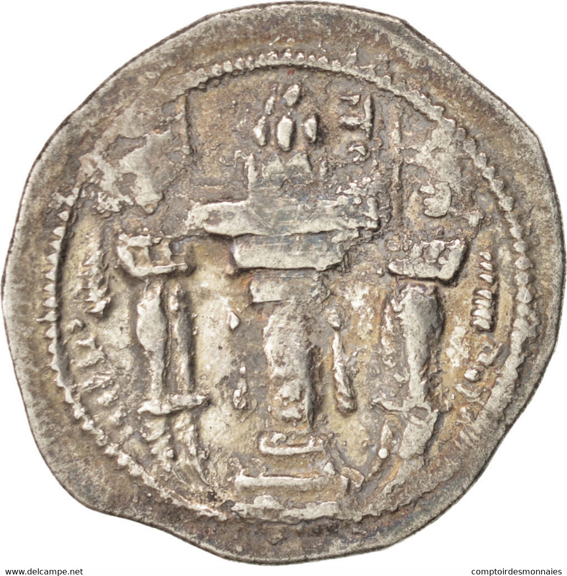 Sassanides, Yazdgard Ier (390-420), Drachme, Göbl 146-147 - Orientales