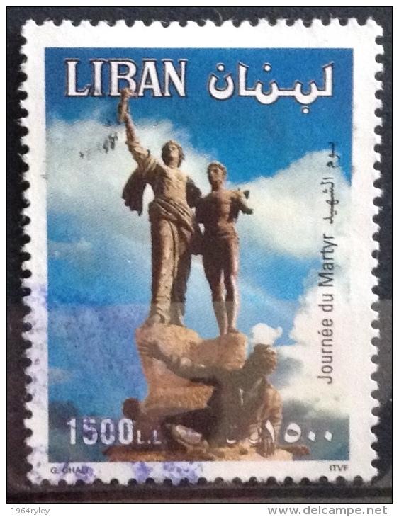 Lebanon  (o)  - 1995 - # 327 - Lebanon