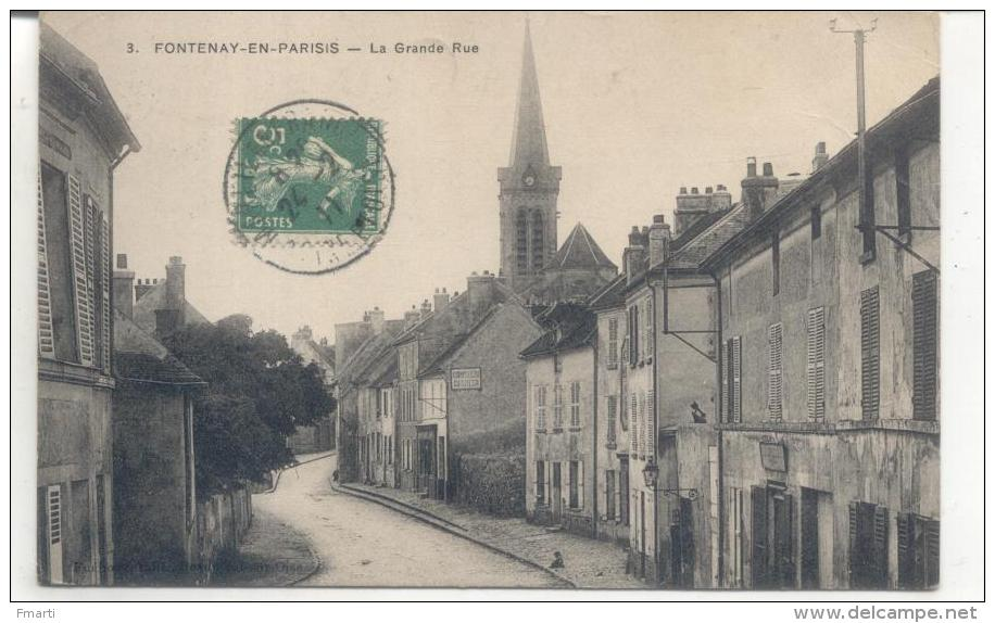 3. Fontenay En Parisis, La Grande Rue - France