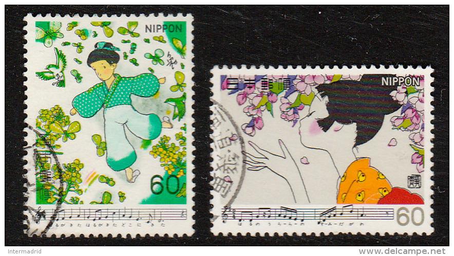JAPÓN. Yvert Nsº 1363/64 Usados - 1926-89 Emperor Hirohito (Showa Era)