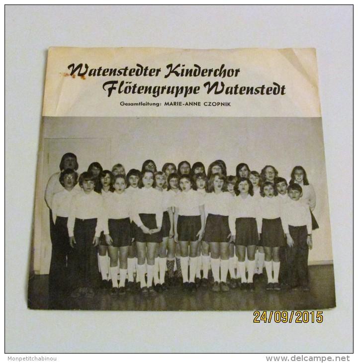 45T WATENSTEDTER KINDERCHOR - Vinyl-Schallplatten