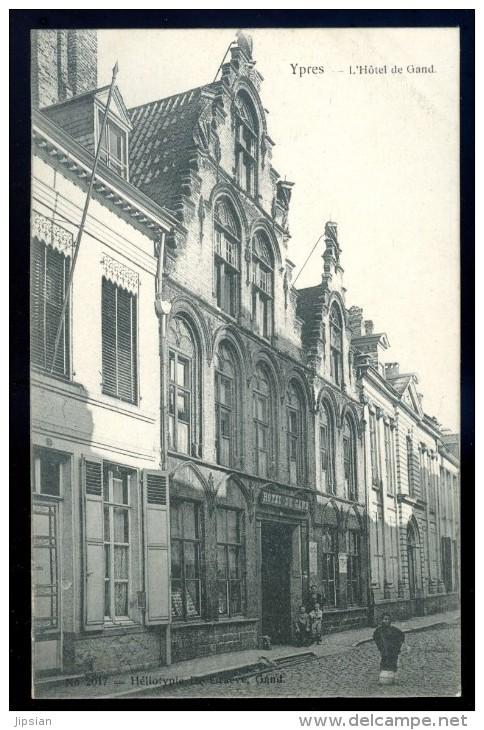 Cpa De Belgique  Ypres Leper  L' Hôtel De Gand     FEV16 11 - Ieper