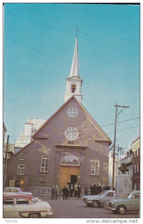 CANADA---QUEBEC----église  Church--notre-dame-des-victoires---voir 2 Scans - Quebec