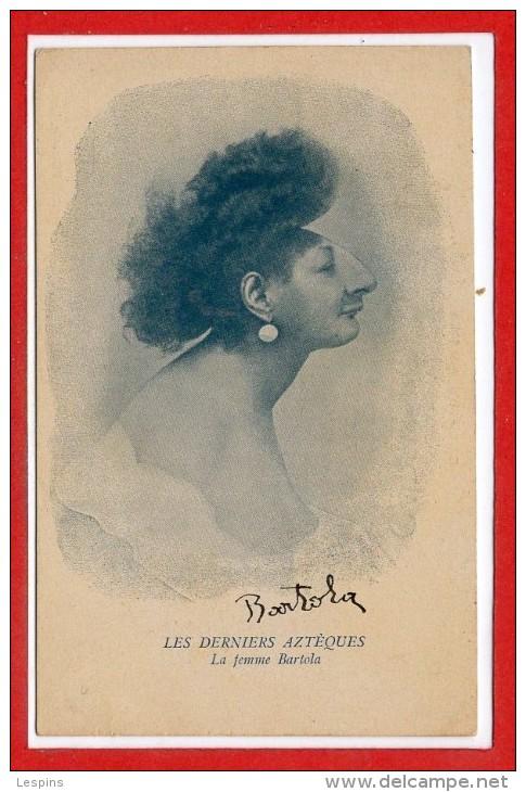 AMERIQUE -- COLOMBIE --  Les Derniers AZEQUES - La Femme Bartola - Colombie