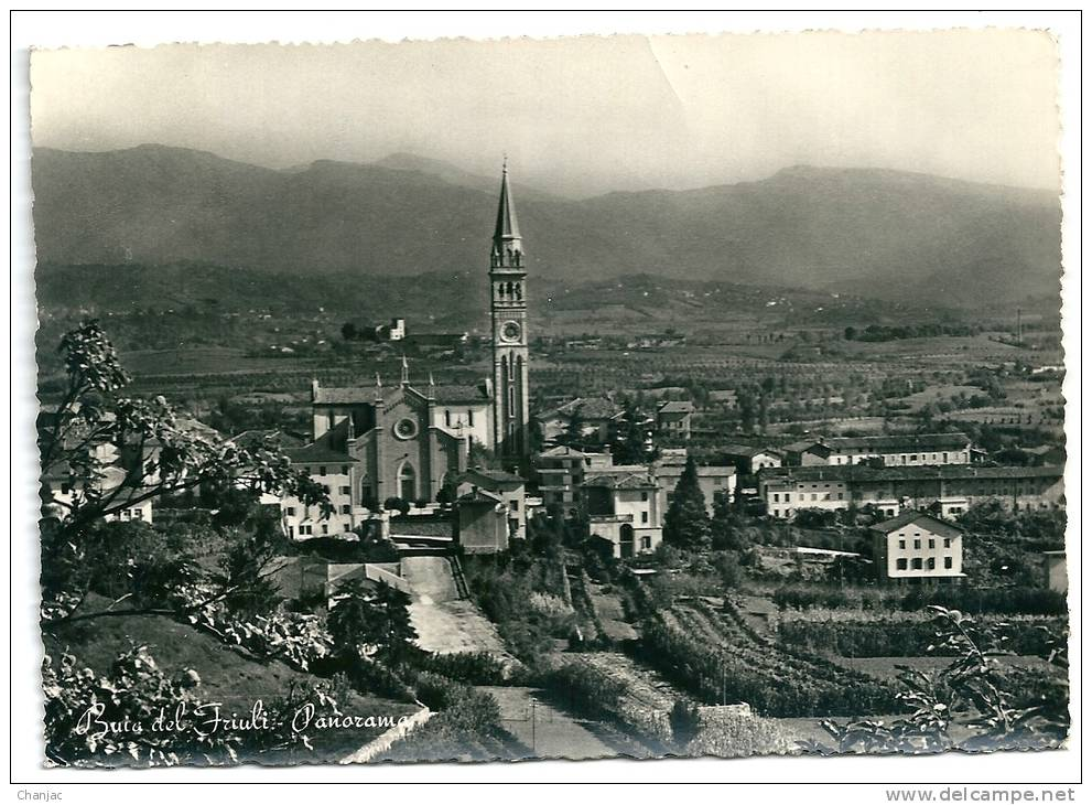 Cpsm: ITALIE BUIA DEL FRIULI Panorama N° 1528 - Udine