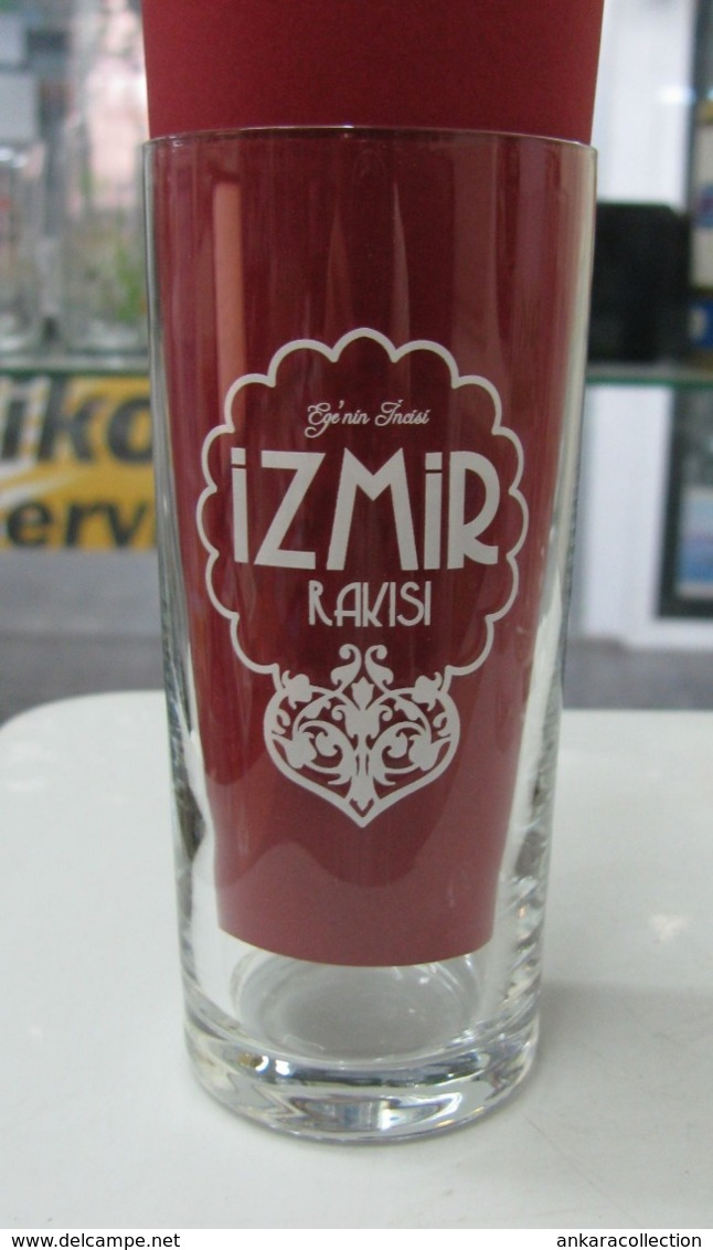 Other Bottles Ac Izmir Raki White Coloured Logo Clear Glass From Turkey