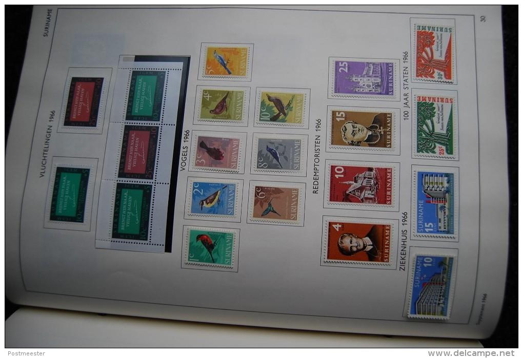 Nederland Overzee - Vergevorderde Verzameling In Importa Album - Curaçao, Nederlandse Antillen, Aruba