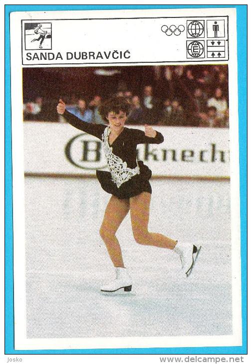 SANDA DUBRAVCIC Figure Skating ( Yugoslavia Vintage Svijet Sporta) Patinage Artistique Eiskunstlauf Patinaje Pattinaggio - Skating (Figure)