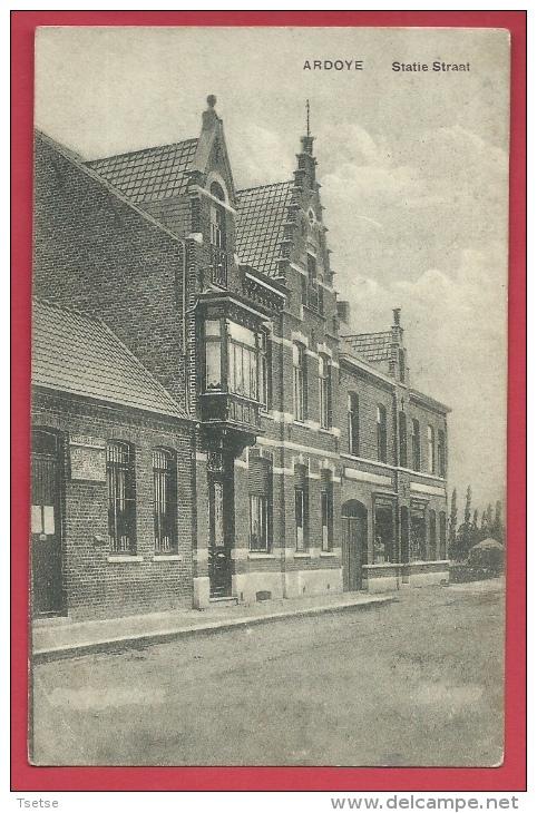 Ardooie - Statie Straat - Feldpost  1915 (verso Zien ) - Ardooie