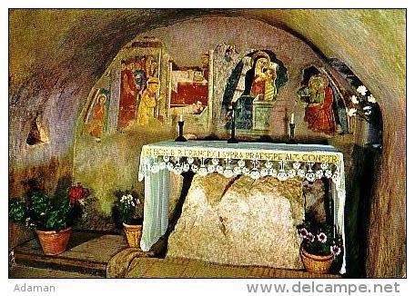 Rieti       H1025       Santuario Fancescano Del Respio Greccio       ( Voir Timbre ) - Rieti